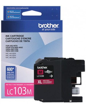 Tinta Brother Lc103M Magenta - (LC103M)