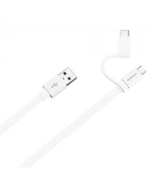 Cable de datos Huawei USB 2.0 a USB-A con adaptador USB-C (4071417)