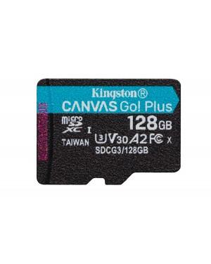 Tarjeta de Memoria Kingston microSDXC Canvas Go Plus, 128GB, Lectura 170MB/s, Escritura 90Mb/s w/o ADP