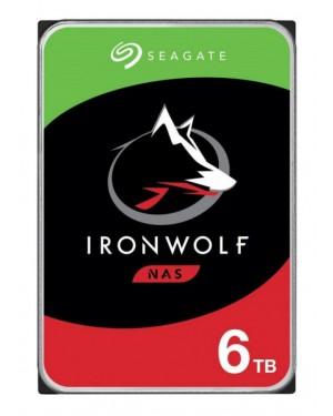 "Disco Duro Seagate Ironwolf 6TB, 3.5"" SATA 6Gb/s, 5400RPM (ST6000VN001)"