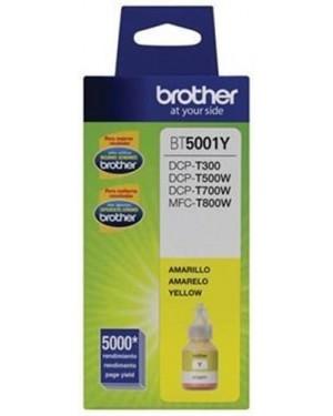 Botella de tinta Brother Amarillo BT5001Y (BT5001Y)