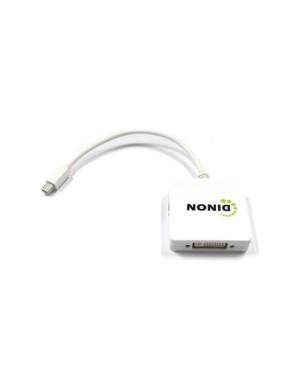 ADAPTADOR MINI DISPLAY PORT A HDMI/DVI/DP