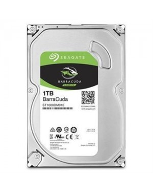 "Disco Duro 1TB para PC Seagate BarraCuda 3.5"" 7200rpm, SATA 6Gb/s, Cache 64MB (ST1000DM010)"