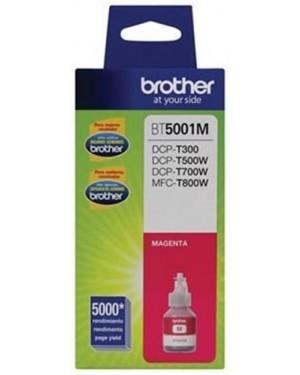 Botella de Tinta Brother BT5001M Magenta, 5000 Páginas (BT5001M)
