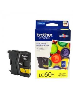 Tinta Brother Lc60Y Amarillo Negro - (LC60Y)
