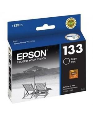 Cartridge de Tinta Epson 133 Negra T133120-AL (T133120-AL)