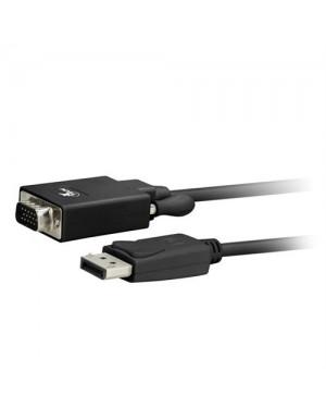Xtech Cable Adaptador De Display Port Macho A Vga Macho 1.8M - (xtc-342)