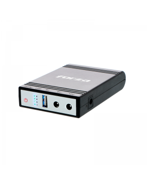 Forza Mini-UPS Portatil DC 14watts USB 5-9-12V
