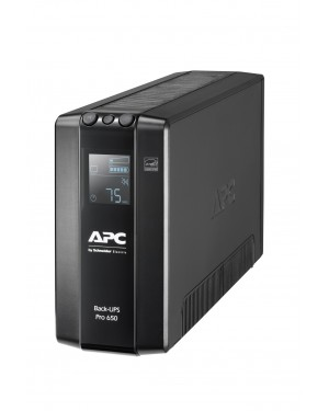 APC Back UPS Pro BR 650VA 6 Outlets AVR LCD Interface