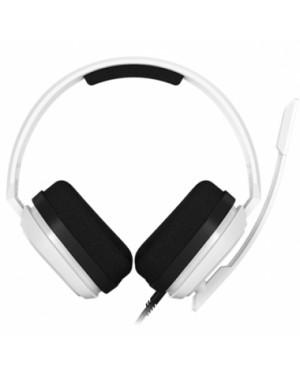 Audífonos Gamer Logitech Astro A10, con Micrófono, para PS4, Blanco (939-001846)