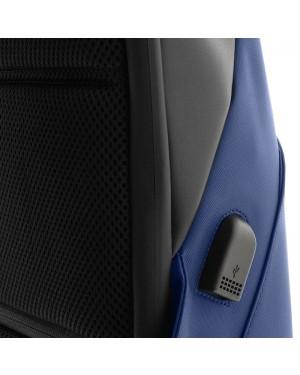 "Mochila para Laptop Klip Xtreme Fidenza, Tamaños 15.6"", Polyester, Black (KNB-620BK)"