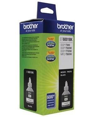 Botella de tinta Brother Negra BT6001BK (BT6001BK)
