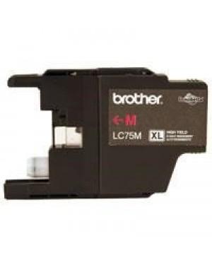 Tinta Brother Lc75M Magenta R.600 Mfc-J280W J425W J525Dw J825Dw - (LC75M)