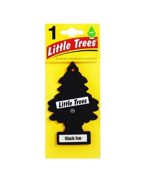 Aromatizante Papel Aroma Black Ice Little Trees