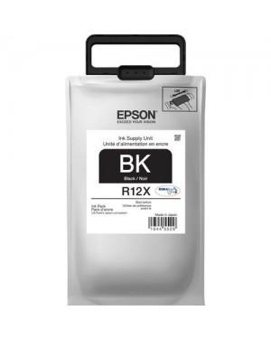 Cartuchon Tinta Epson Cartridge Negro Tr12X120-Al For Wf-R5690 - (TR12X120-AL)